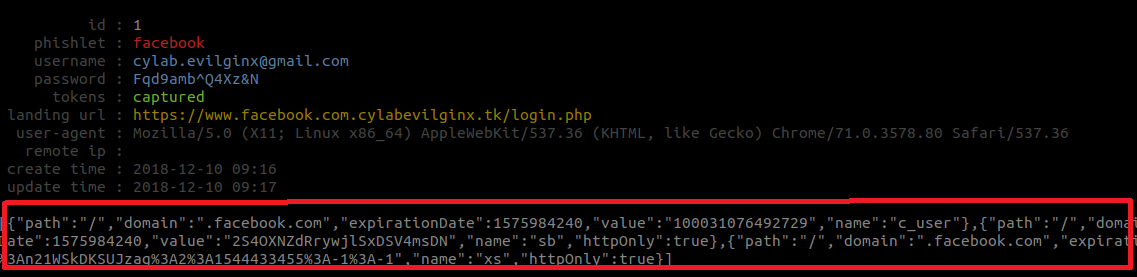 Phising with 2FA bypass using Evilginx | cylab be